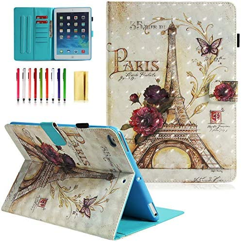UUcovers Lightweight Leather Wallet 9 Paris