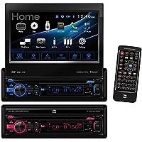 Dual Electronics 7IN 1DIN DVD BT HDMI RCVR DV737MB