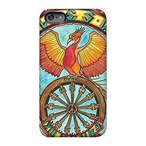Shock Absorbent Hard Phone Cover For Iphone 6 (xzF8030Xmmr) Allow Personal Design Nice Grateful Dead Pictures