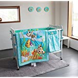 New Baby Neutral Nemo 11pcs Crib Bedding Set with Bumper