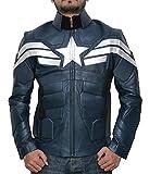 jacket captain america - Captain America Winter Soldier Jacket - Captain America Costume Jacket (Captain America Winter Soldier, L)