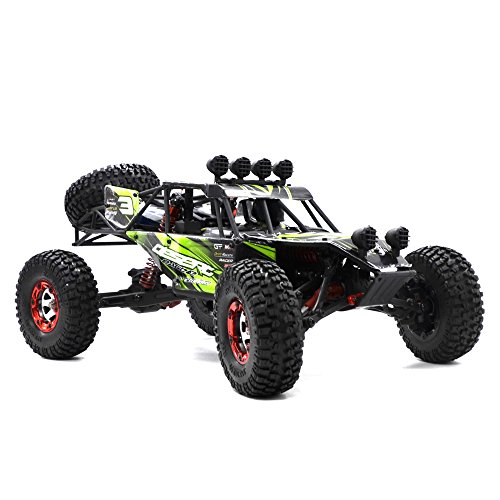 Zerospace Keliwow Electric Fast RC Car 1/12 Scale RC Truck 4WD Off-road Racing Buggy with 2.4Ghz Remote Control – Ready to Race,Green