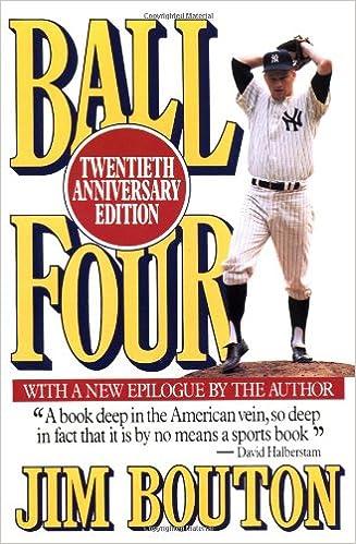 Ball Four Twentieth Anniversary Edition Bouton Jim