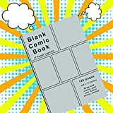 Blank Comic Book: 120 pages, 7 panel, Silver