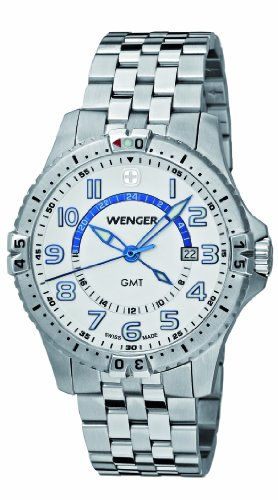 WENGER SQUADRON GMT WATCH 77079 Mens watch