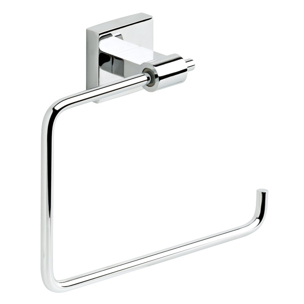 Franklin Brass MAX46-PC Maxted Towel Ring, Polished Chrome