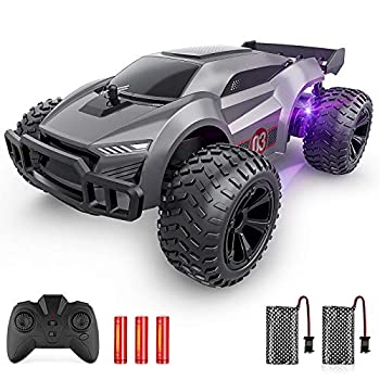 EpochAir Distant Management Automobile – 2.4GHz Excessive Velocity Rc Automobiles, Offroad Pastime Rc Racing Automobile with Colourful Led Lights and Rechargeable Battery,Electrical Toy Automobile Present for 3 4 5 6 7 8 12 months Outdated Boys Women Youngsters