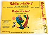 Fiddler On The Roof Easy Piano