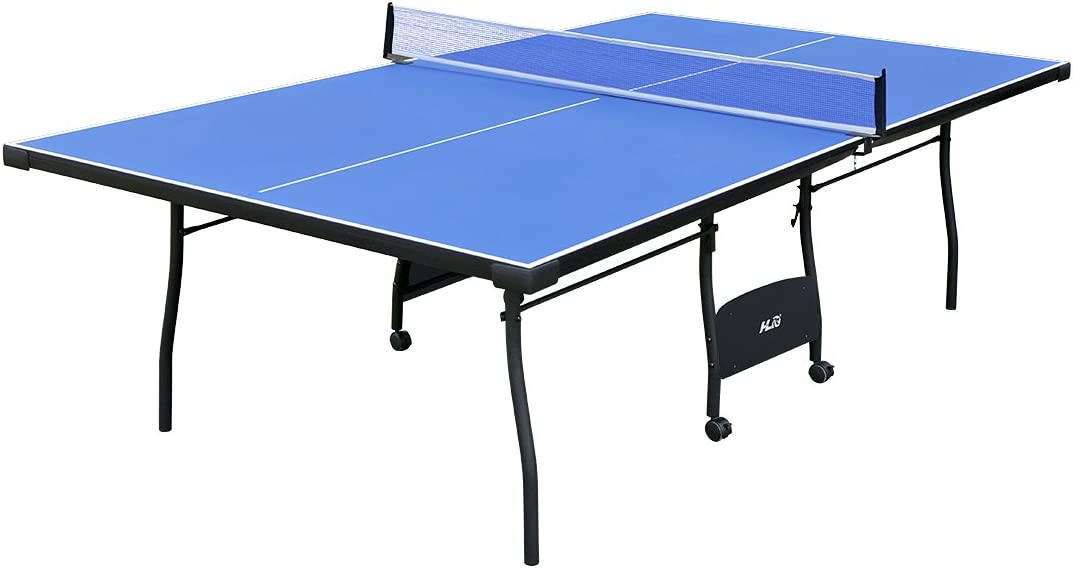 HLC 9FT Professional Full-Size Folding Table Tennis