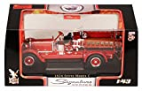 1924 Stutz Model C Fire Engine Fords Fire Co. No.1, Red - Yatming 43006 - 1/43 Scale Diecast Model Toy Car