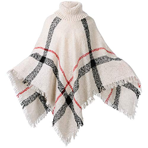 HITOP Womens Dress Ponchos