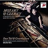 Mozart & Czerny: Concertos for Two Piani