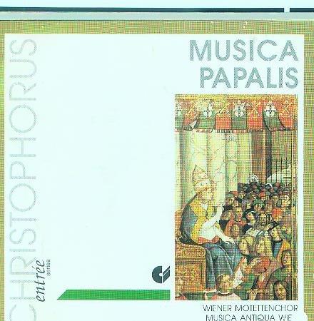 Musica Papalis : Wiener Motettenchor ; Christophorus CD