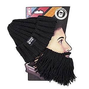 9718a9be587 Beard Head Barbarian Vagabond Beanie - Funny Knit Hat w Fake Beard ...