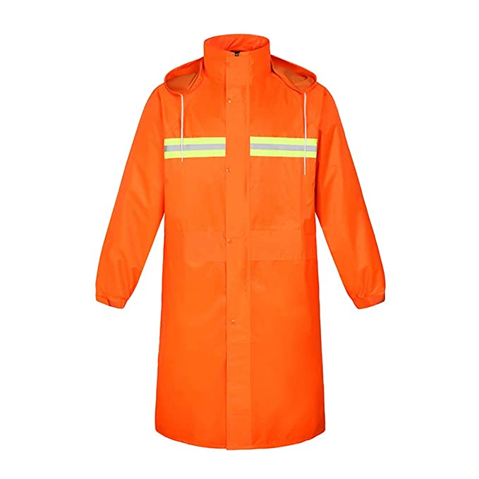 discount up to 60% newest style of special for shoe Meijunter Orange Reflective Traffic Control Raincoat ...
