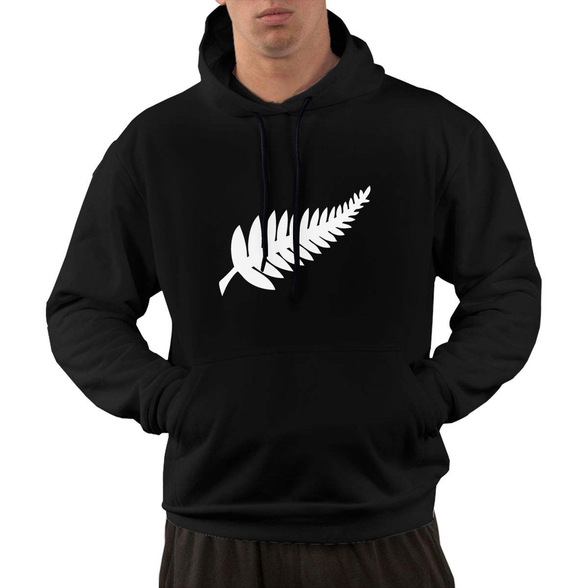VANMASS Men New Zealand Long Sleeve Pullover Hoodies Sweatshirt