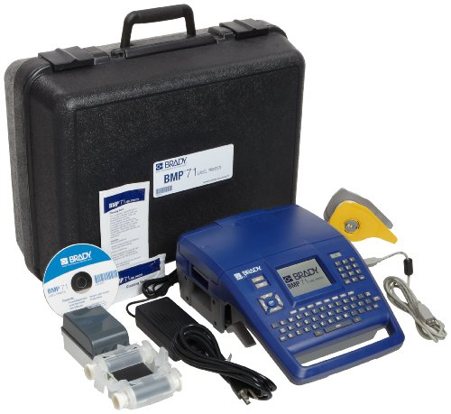 Brady BMP71 Label Printer With Quick Charger And USB