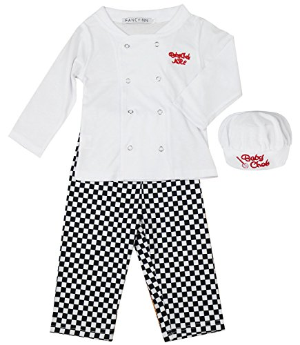Boys Halloween Fancy Dress (FANCYINN Baby 3 Pieces Set Long Sleeve Top and Pant with Hat 80)