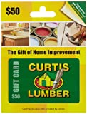 home depot gift cards - Curtis Lumber Gift Card $50