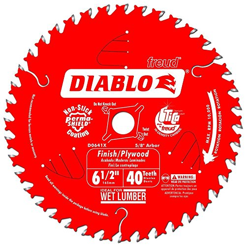 - Diablo by Freud D0641X Finishing Saw Blade