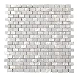 Diflart Oyster Mother of Pearl Shell Mosaic Tile 10 Sheets/Box (Brick, Pearl Shell)
