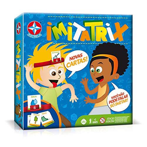 Jogo de Tabuleiro Imitatrix Brinquedos estrela