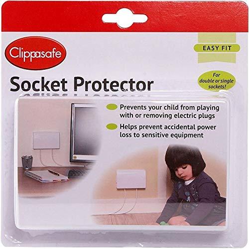 Clippasafe Electrical Plug Socket Protector