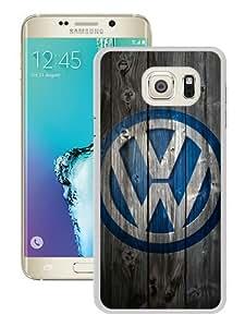 Newest Samsung Galaxy S6 Edge Plus Case ,Unique And Fashion Designed Case With Volkswagen logo White Samsung Galaxy S6 Edge+ Skin Cover High Quality Phone Case
