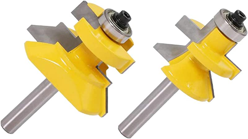 8mm Round Shank Raised Panel CabinetDoor Router Bit Woodwork Milling Cutter Tool