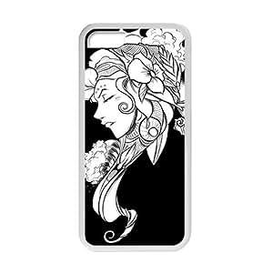 XiFu*MeiArtistic Fairy Flower Girl Phone Case for iphone 6 plua 5.5 inchXiFu*Mei