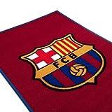 Official FC Barcelona Crest Rug