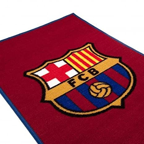 Amazon Official Fc Barcelona Crest Rug Sports Outdoors