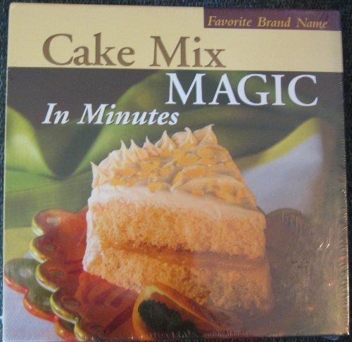 Favorite Brand Name Cake Mix Magic in Minutes