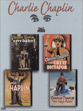 Charlie Chaplin Boxed Set (City Lights / The Great Dictator / Modern Times / The Gold Rush) (Lights City Chaplin)