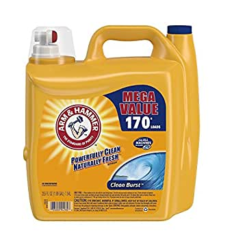 ARM & HAMMER Clean Burst Liquid Laundry Detergent, 255 fl oz (1)