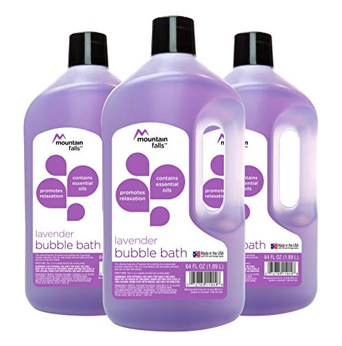 Mountain Falls Bubble Bath, Lavender, 64 Fluid Ounce (Pack of 3)