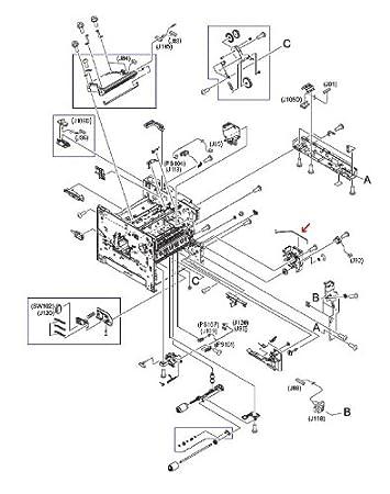 Amazon Com Hp Rc1 0268 000cn Metal Rod Between External Power