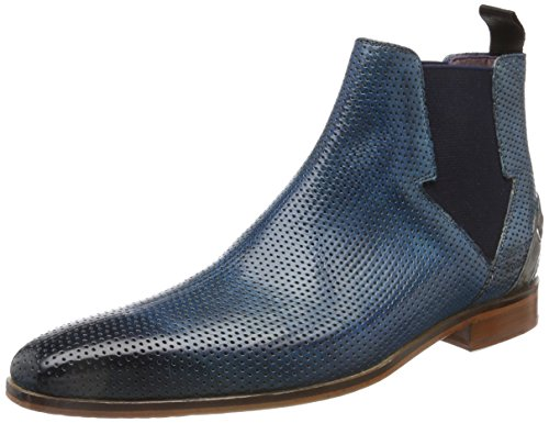 Bluette Lance Perfo Navy Ela Ls Herren Blau Black Grey MELVIN MH 19 Morning Klassische HAMILTON MADE HAND Strap amp; Nat SHOES OF Stiefel CLASS Crust AaWzAqn