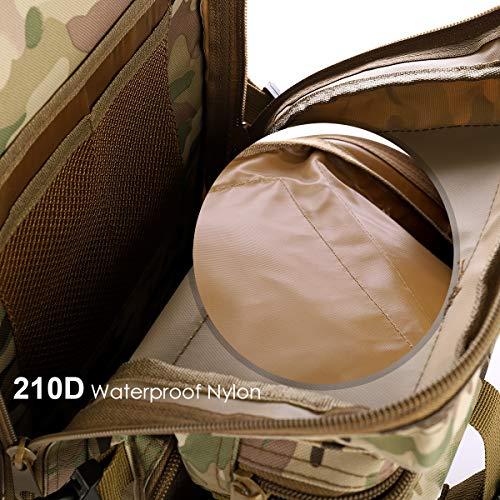 SHANNA Militaire Sac À Dos, Sac À Dos Tactique 35L Armée Sac À Dos Molle Assaut Pack Tactique Combat Sac À Dos pour… 4