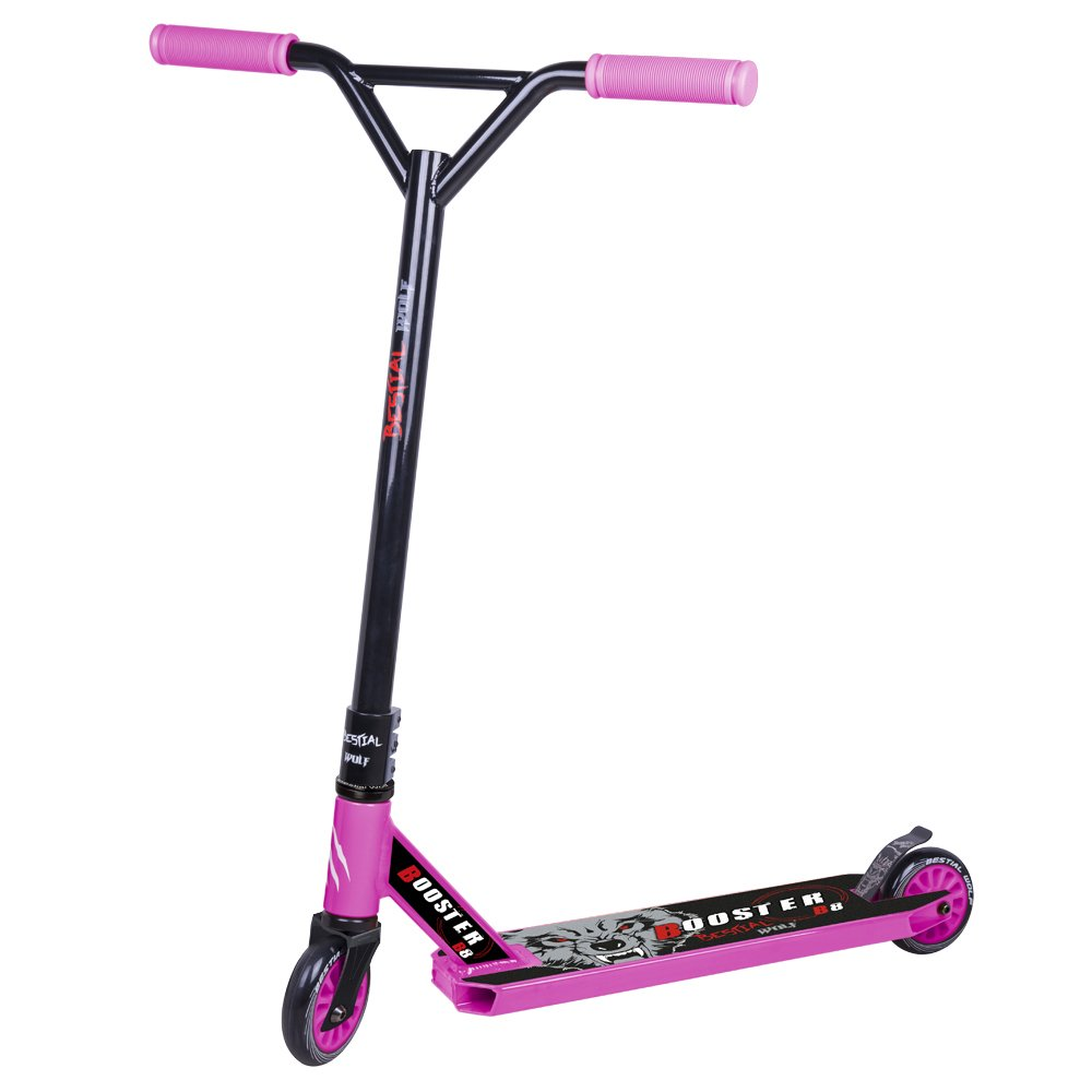 Bestial Wolf Booster B8 Scooter, Rosa, Talla Única