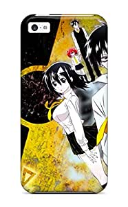 Tpu Case Cover For Iphone 5c Strong Protect Case Blood Lad Design