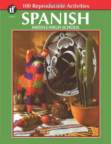 Spanish, Grades 6 - 12: Middle / High School (The 100+ Series™)