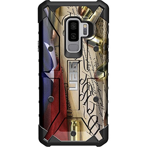 - Limited Edition - Customized Designs by Ego Tactical Over a UAG- Urban Armor Gear Case for Samsung Galaxy S9 Plus (Larger 6.2