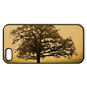 Beautiful Tree Watercolor style Cover iPhone 5 and 5S Case (Autumn Watercolor style Cover iPhone 5 and 5S Case)