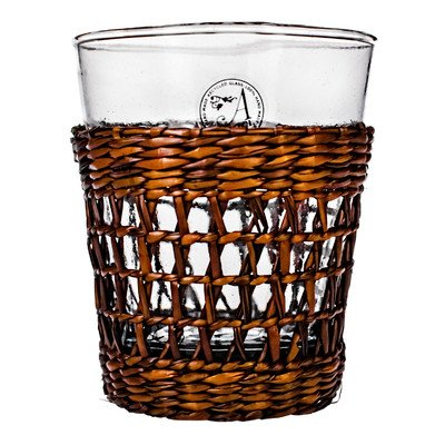 Amici Bali Double Old Fashioned Glasses, 13 oz - Set of 4