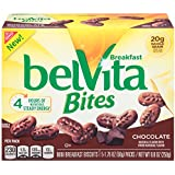 belVita Bites Breakfast Biscuits, Chocolate, 5 Count Box, 8.8 Ounce (Pack of 6)