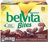 belVita Bites Chocolate Mini Breakfast Biscuits, 5 Count Box, 8.8 Ounce
