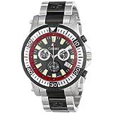 Calibre Men's SC-5H2-04-007.4 Hawk Chrono Analog Display Quartz Silver Watch
