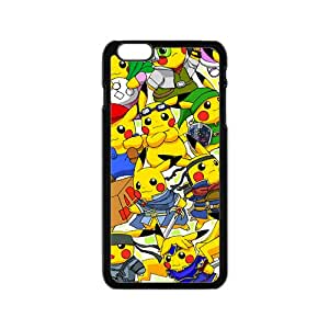 Yellow Cute Pikachu Pocket Monster BlackiPhone 6 case