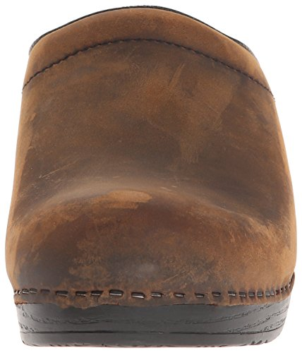 Dansko Donne Sonja Pelle Ingrassata Intasare Antique Brown Oliato